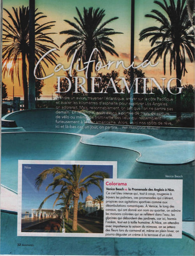 Benefits - California Dreaming California versus France ... That is the way to go in this article.